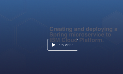 Tutorial: Creating and deploying a Java Spring microservice