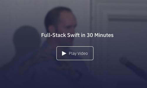 Tutorial: Full-Stack Swift in 30 Minutes